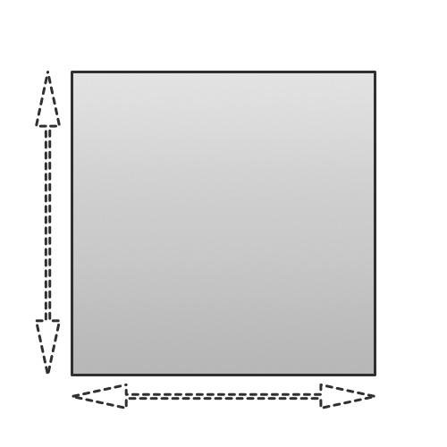 Oppervlakte vierkant berekenen